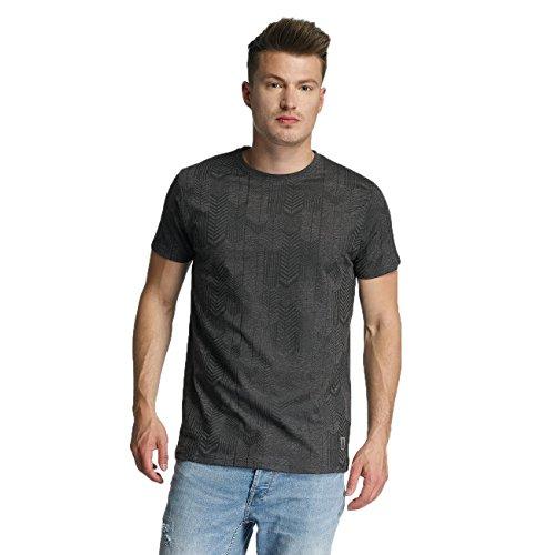 Just Rhyse Tionesta Herren T-Shirt Schwarz Schwarz