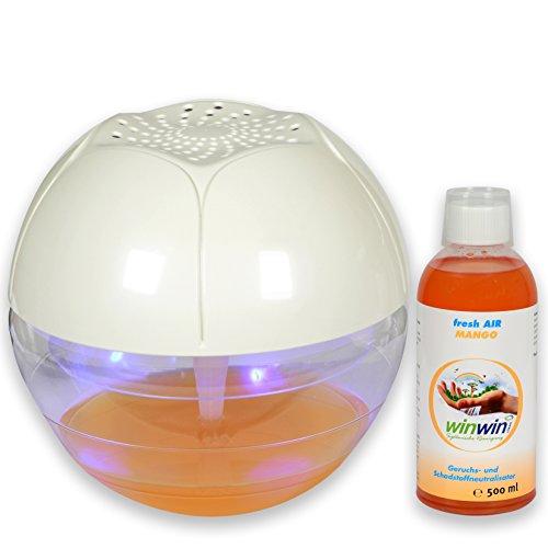 winwin clean Systemische Reinigung - AIR Blow I UV-ENTKEIMUNG I MIT LUFTREINIGER-Konzentrat Fresh AIR Mango 500ml