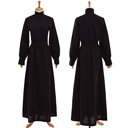 GRACEART Pionier Damen Kostüm Prärie Kleid (Medium, Dickes ronior)