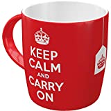Nostalgic-Art 43009 United Kingdom - Keep Calm and Carry On, Tasse