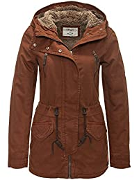 ONLY Damen Jacke Onlleeona Canvas Parka Jacket Cc Otw