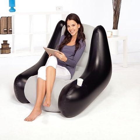 Bestway Luftsessel aufblasbarer Lounge Sessel Sitzsack Camping Sessel Sofa Couch