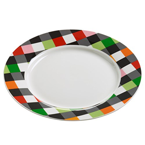 Maxwell & Williams rl0035 Assiette, Porcelaine, Multicolore, 11.4 x 35,6 x 55.2 cm