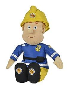 Sam el Bombero - peluche, 45cmSuave peluche de 45 cm. Sam lleva uniforme y casco.Mide unos45 cm.