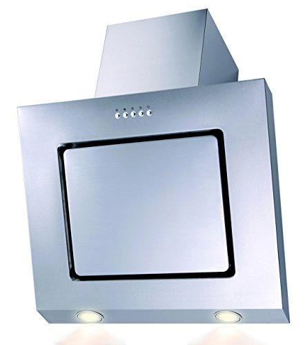 SH60de IX Campana extractora acero inoxidable LED borde de aspiración 60cm oblicuo