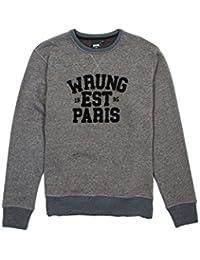Sweat Wrung Parigo gris chiné foncé
