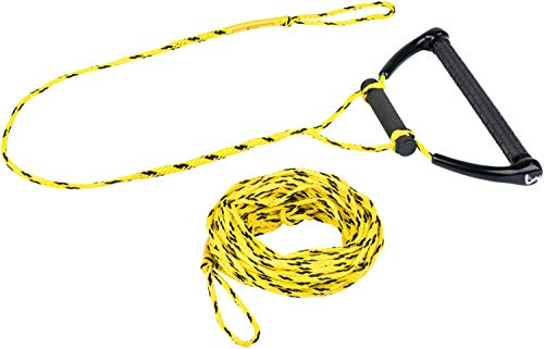 MESLE Kneeboardleine Hook up 70\' 3-Loop, mit Starthilfe-Hantel für Kneeboard