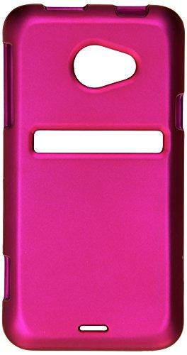 Asmyna HTCEVO4GLTEHPCSO212NP Schutzhülle für HTC Evo 4G LTE, Titan, strapazierfähig, gummiert, Hot Pink