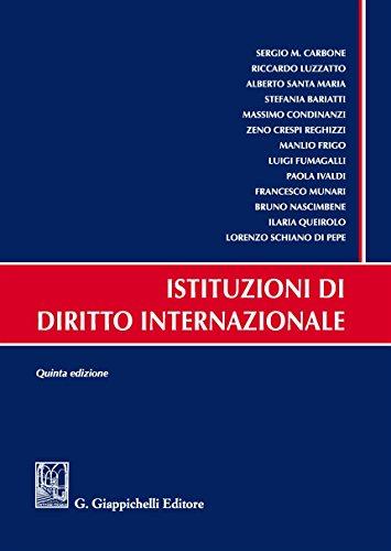 Istituzioni di diritto internazionale