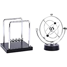 04db6571701 JIAJU Adornos del Caos máquina de Movimiento perpetuo Bola de la Piscina  Newton péndulo Creativo Newtons