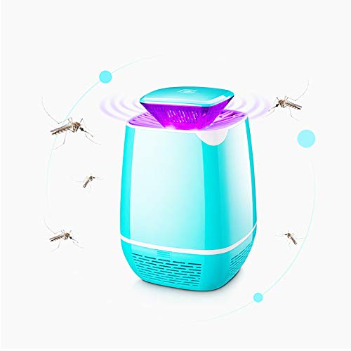 kitteny Mata Mosquitos, 5W Lámpara Trampa para Insectos con luz LED, Silencioso Control de Insectos Moscas,Sin Productos Químicos