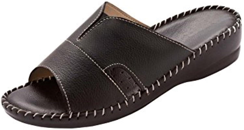 Mr.   Ms. Pediconfort-Pantofole extra large in pelle durevole Prestazioni affidabili Non preoccuparti quando acquisti | Gioca al meglio | Scolaro/Signora Scarpa