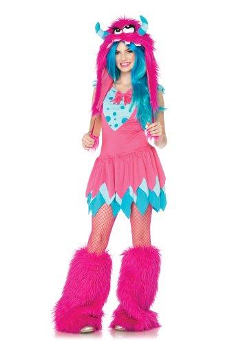 Leg Avenue J48066 - Unheil Monster Kostüm Set, Größe M/L, rosa