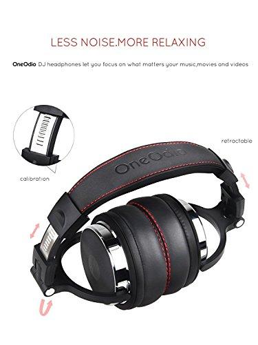 uffie OneOdio Over Ear Cuffie chiuse da Studio Back DJ per monitoraggio 5d2603c6f052