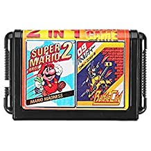Bloomerang 16Bit 2 In 1 Super Game Cartridge For Sega Game Console