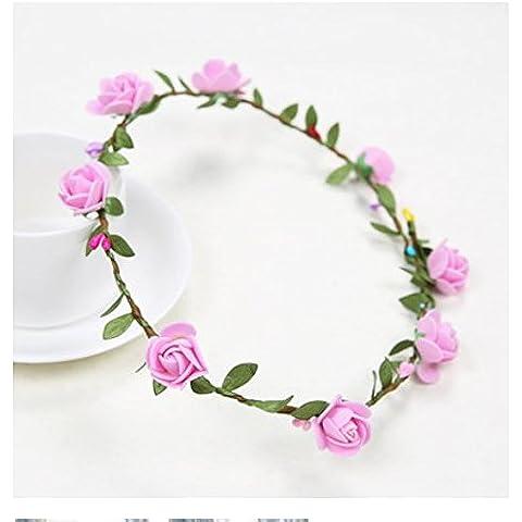 Garland accessori per capelli fiore del copricapo