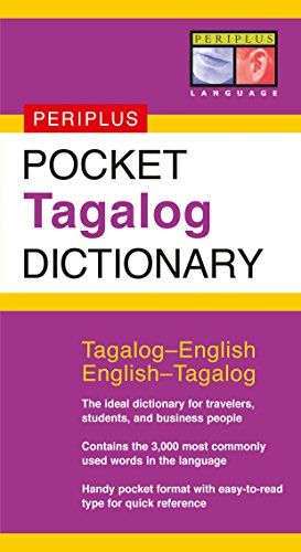 onary: Tagalog-English/English-Tagalog (Periplus Pocket Dictionaries) ()