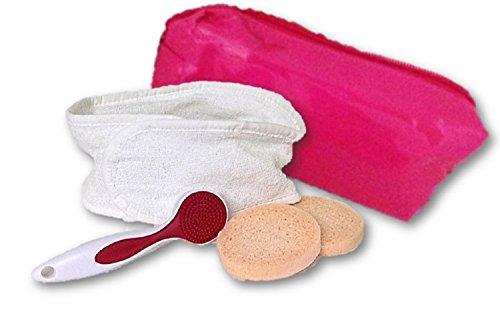 Bande Bandeau pour cheveux cosmétique éponge Marron foncé pour nettoyage du visage Soin du Visage Maquillage studio