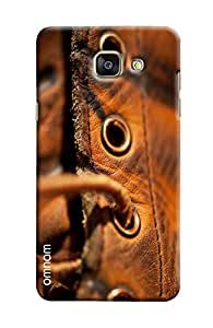 Omnam Leather Shoes Closeup Printed Designer Back Cover Case For Samsung Galalxy A5 2016 (A510)