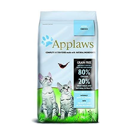 Applaws Dry Cat 9100938 – Katzenfutter, Hähnchen, 2 kg