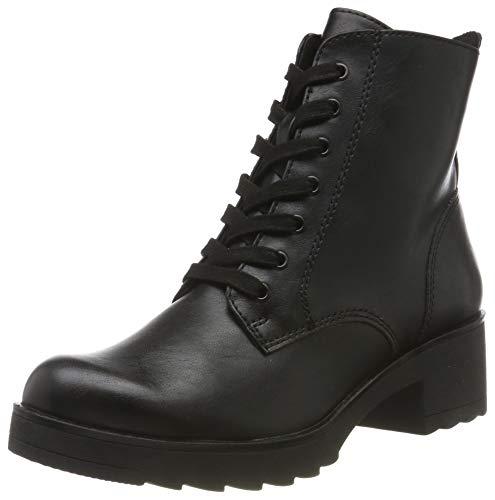 MARCO TOZZI Damen 2-2-25262-33 Biker Boots, Schwarz (Black Antic 002), 40 EU