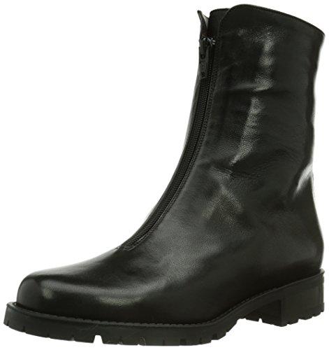 Gabriele 961186, Stivali altezza metà polpaccio Donna Nero (Nero (nero))