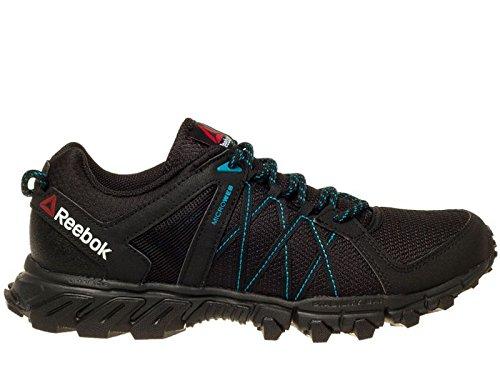 Reebok Trailgrip RS 5.0, Zapatillas de Senderismo para Hombre, Negro (Black / Wild Blue / Coal), 41 EU
