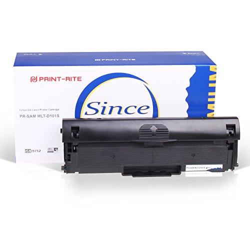 Print-Rite MLT-D101S D101 tóner para Samsung ML-2160 ML-2165W ML-2167 SF-760P SF-760 SCX-3400 SCX-3405 SCX-3407 negro 1 paquete 1500 páginas de rendimiento
