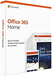 Microsoft Office 365 Home, For Mac / Windows, English Subscription, Middle East Version, 1 Year License [6GQ-0
