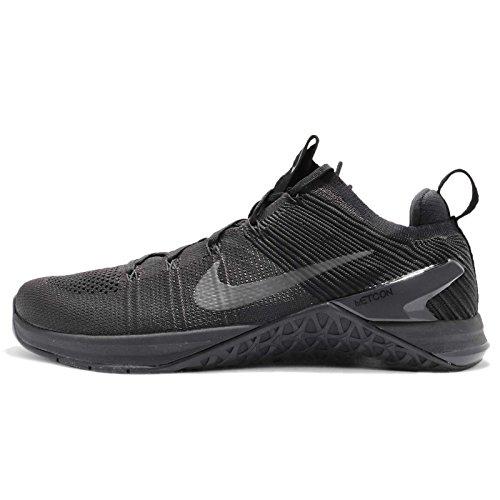 Nike Metcon Dsx Flyknit 2, Zapatillas de Deporte para Hombre, Negro Black/Hyper Crimson 004, 40 EU