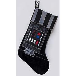 Calza di Natale Darth Vader star wars calza della befana guerre stellari simile al costume di darth vader calza di natale per il caminetto e i regali di babbo natale con licenza ufficiale di star wars