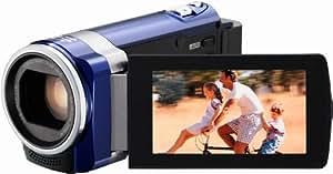 JVC GZ-HM445AEU Full-HD Camcorder (6,9 cm (2,7 Zoll) Display, 1,5 Megapixel CMOS, 40x optische Zoom, HDMI, SDXC-Kartenslot) blau