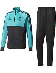 adidas PES Chándal Real Madrid, Hombre, Multicolor (Arraer / Negro), M