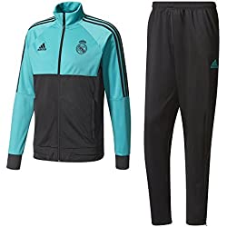 adidas PES Chándal Real Madrid, Hombre, Multicolor (Arraer / Negro), M