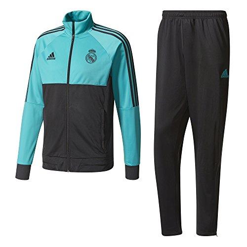 Adidas Pes Trainingsanzug Real Madrid, Herren S Mehrfarbig (Arraer/Schwarz)
