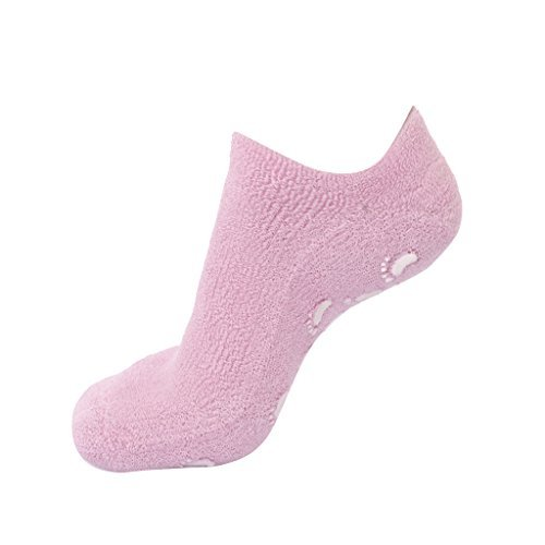 Generic Footful Beauty Spa Moisturizing Skincare Gel Therapy Treatment Socks - Pink
