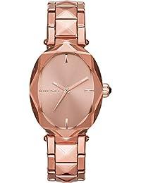 b5bb6b8e6114 Diesel Reloj Analógico para Mujer de Cuarzo con Correa en Acero Inoxidable  DZ5580