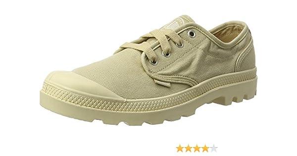 Palladium Pampa Oxford, Sneakers Basses Homme, Beige (Sahara Ecru), 41.5  EU  Amazon.fr  Chaussures et Sacs d16c6db6fb8a