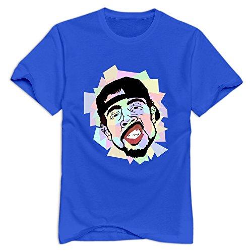 KST - T-shirt - Homme -  Bleu - Medium
