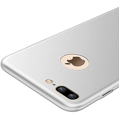 Plata Ultra-delgado Funda Case Cover y Protector de Pantalla Para Apple iPhone 7 Plus 5.5 pulgadas Vooway®