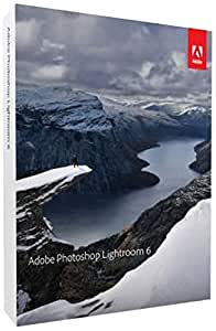 Adobe Photoshop Lightroom 6 | PC/Mac | Disque