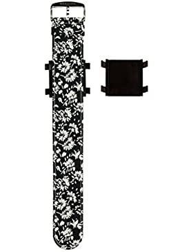 Stamps Armband Bloomy White 100137 mit zusätzlichem Snapper/Adapter 9938000