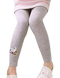 Bonjouree Leggings Fille Skinny Pantalon Stretchy Collants Pour Enfants  Fille 1-6 Ans d276f24a8ec