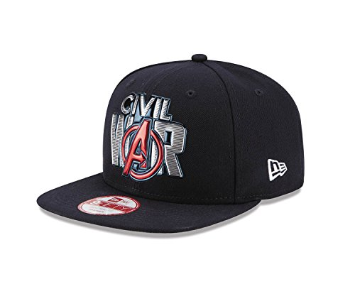 Preisvergleich Produktbild Marvel Captain America 3 Civil War Title Chrome 950 Snapback Baseball-Cap