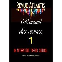 Revue Atlantis, recueil des revues 1, un authentique trésor culturel: Année 1927, Numéros 1 à 9