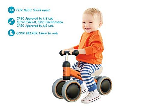 Bicicleta para Bebés de 1 Año Draisinne Chica Niño 10-15...