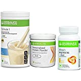 Herbalife Formula 1 Shake Kulfi 500 Gms With Personalized Protein Powder 200 Gms Afresh Lemon 50 Gms