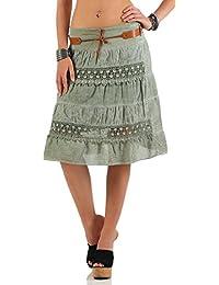 5ebc8f9e4e4c Suchergebnis auf Amazon.de für: Grüner Sommerrock: Bekleidung