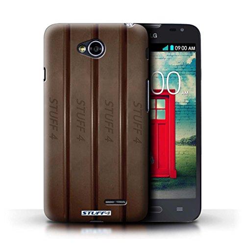 Kobalt® Imprimé Etui / Coque pour LG L70/D320 / Doigts/Sticks conception / Série Chocolat Doigts/Sticks