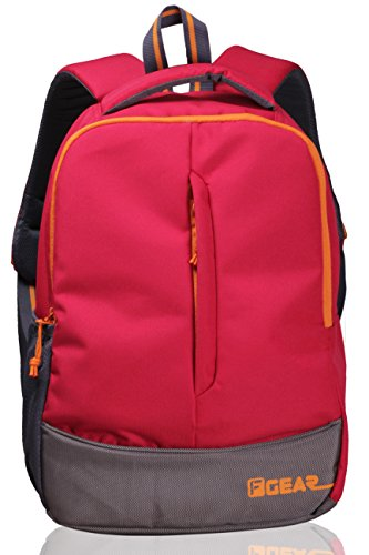 F Gear Ferrari 20 Liters Casual Backpack (Red Orange)  available at amazon for Rs.499